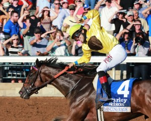 DANCING RAGS The Darley Alcibiades Gr I - 65th Running Keeneland Race Course Lexington, Kentucky October 7, 2016 Race #09 Purse $400,000 1-1/16 Miles 1:44.69 Chadds Ford Stable, Owner H. Graham Motion, Trainer Angel Cruz, Jockey Daddys Lil Darling (2nd) Fun (3rd) $26.60 $10.60 $7.40 Order of Finish - 4, 14, 1, 6 Please Give Photo Credit To: / Coady Photography