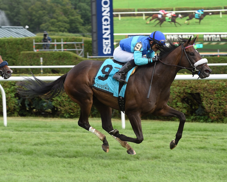 Miss Ella wins The Caress Stakes