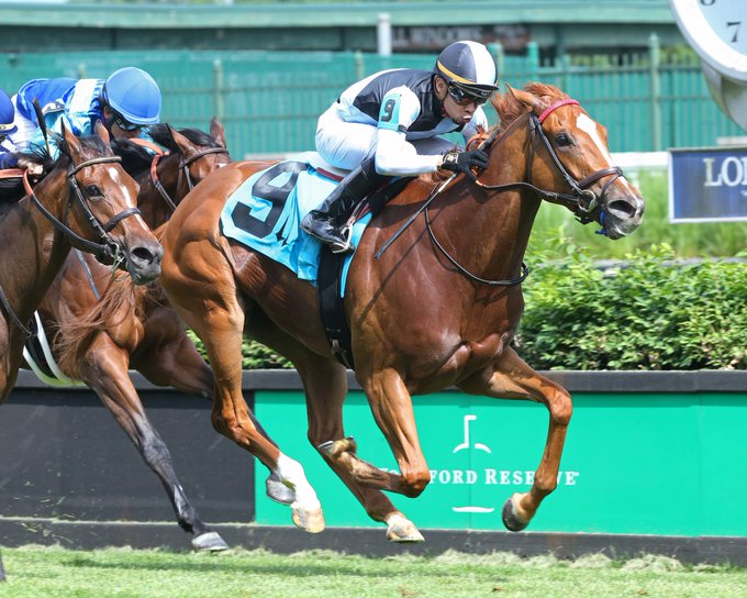 Sharing Wins The Tepin Stakes